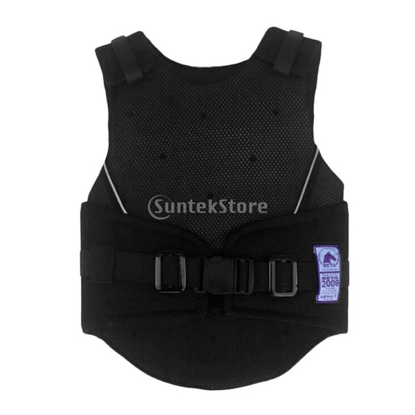 Kids Children Shock Absorption Adjustable Equestrian Horse Riding Vest Protective Waistcoat Body Protector S M L