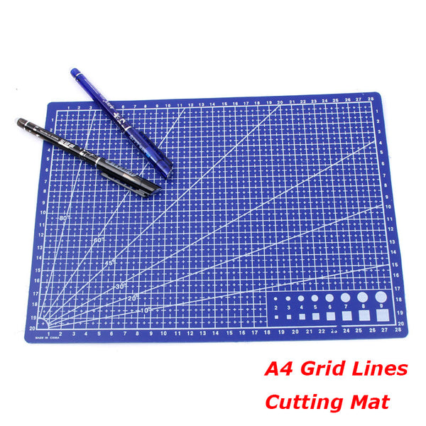 30*22cm Cutting Mats A4 Grid Double-sided Plate Design Engraving Model Mediated Knife Scale Cut Cardboard School Office Supplies