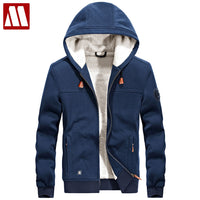 Men Winter Warm Hoodies Sweatshirts Brand Clothing Uniform Streetwear Jacket Fleece Hoodies jaqueta masculina Plus Size XXXL