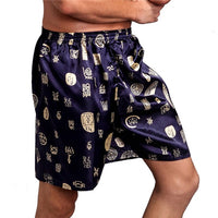 Casual Loose Men Shorts Sleepwear Bottom Boxers Pajama Elastic Waist Nightwear Underpants Underwear Summer Comfortable 2018