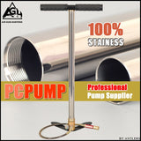 High Pressure air Pcp Pump 4500PSI/30MPA Stainless steel pcp air hand pump for airgun paintball scuba tank filling gauge filter