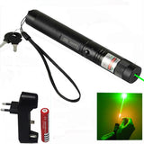 Powerful Laser Pointer Sight 532nm Green Color Verde Rifle Scope Astro Puntero CNC Lazer Fixed Focus With 18650 Battery