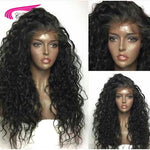 Carina Hair Brazilian Kinky Curly Lace Front Wigs with Baby Hair Pre-Plucked Hairline 150% Density Remy Human Hair front Wigs