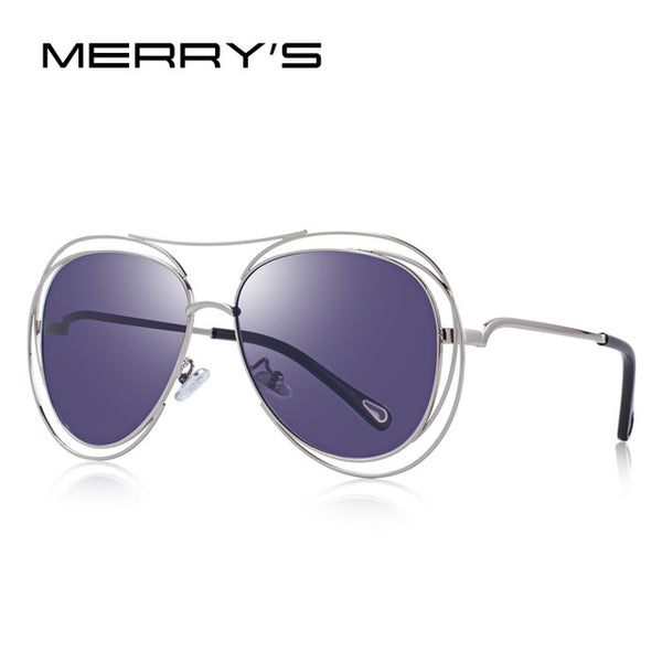 MERRY'S DESIGN Women Designer Sunglasses Fashion Pilot Sunglasses UV400 Protection S'6515
