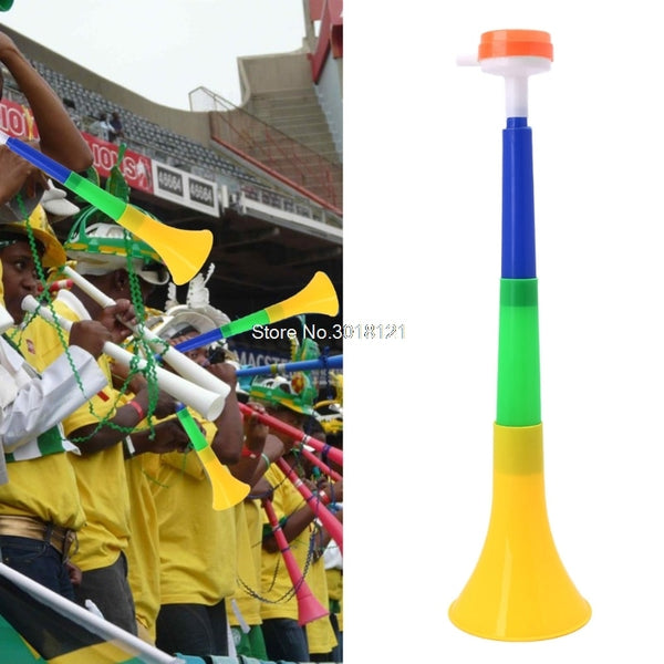 Football Stadium Cheer Fan Horns Soccer Ball Vuvuzela Cheerleading Kid Trumpet   ROU_1008