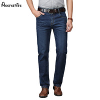 2018 Brand New Men's Fashion Jeans Business Casual Stretch Jeans Classic Long Trousers Denim Pants Male D76