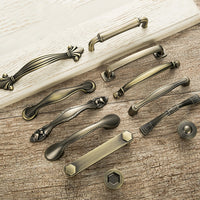 Antique Door Handles and Knobs Metal Drawer Pulls Vintage Kitchen Cabinet Handles and Knobs Furniture Handles Hardware