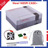 52Pi Original New Version NESPI Case+ Plus Retroflag Kit Functional POWER button with Safe Shutdown for Raspberry Pi 3 B+ /3/2B