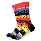 Funny Men Socks Women Art Men Dress Socks High Quality Combed Cotton Happy Socks with Multi Colorful Pattern Wedding Gift