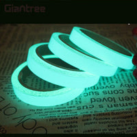 giantree 2cmx1m Luminous Tape 5 Color Glow Tape Reflective tape reflective material Fashion DIY Safety Sticker Self-Adhesive