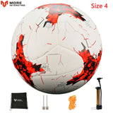 Russia Size 4 Size 5 Football Premier Seamless Soccer Ball Goal Team Match Training Balls League futbol bola with Pump Gift