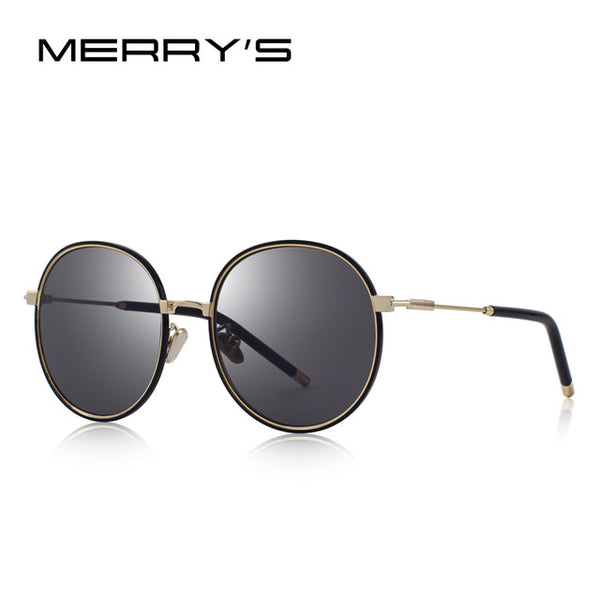 MERRY'S DESIGN Women Fashion Sunglasses Oval Frame Sun Glasses Metal Temple 100% UV Protection S'6366