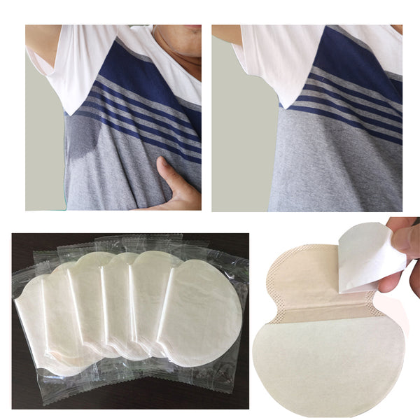 10Pcs Disposable Armpits Linings Sweat Pad for Underarms Gaskets from Perspiration Sweat Pads Summer Deodorant Underarm Pads