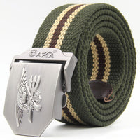 2018 Men Women Casual belt NAVY SEAL thicken canvas military belt Army tactical belt high quality strap unisex automatic belts