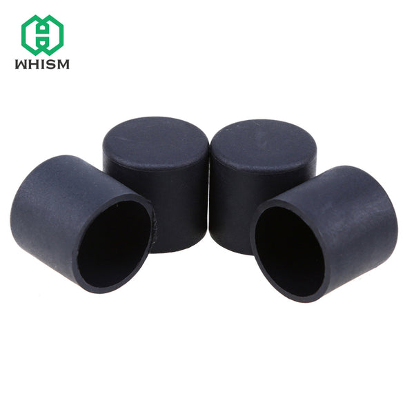 4PCS Plastic Chair Feet Protectors Black Antiskid Furniture Legs Chair Table Mat Pad Base Cap Cover Floor Protector pata mueble