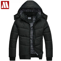 Casual Men Hooded Cotton Padded Coats 2018 Winter Outwear Thick Warm Male Jacket Coat Campera Hombre Invierno Homme Hiver Marque