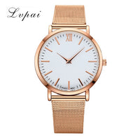 Lvpai Dropshiping Fashion Rose Gold Mesh Band Creative Marble Wrist Watch  Casual Women Watches Brand Quartz Gift Relogio