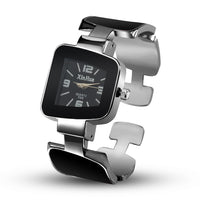 Fashion Creative Watch Irregular Bracelet Wrist Watch Women Full Steel Watch