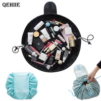2018 new lazy makeup bag portable travel bulk beautician organizer wash bag Makeup Bag Cosmetics bags storage brush