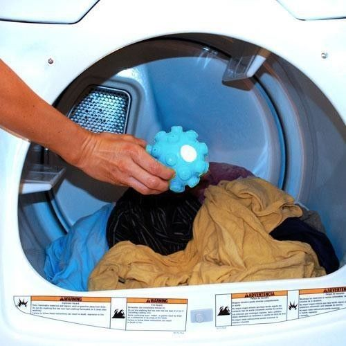2 X Wrinkle Remover Releasing Dryer Balls Laundry Dryer Fabric Softening Ball Launder And Iron In One Time