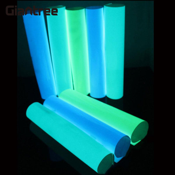 giantree 5cmx1m Reflective tape reflective material Luminous Tape Fashion Guidepost Glow Tape Decor PVC Safety Sticker