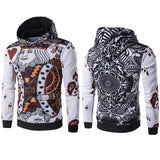 New Arrival Men Hoodies 3D Playing Cards Print Poker King Sweatshirts Hip Hop Hooded Tracksuit Fashion Pullover Full Printing