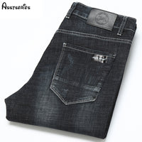 2018 Free Shipping Brand Jeans Solid Designer Jeans Slim Fit Denim Jeans Quality Male Outwear Trousers Pants D99