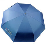 2018 Big Fashion High Quality Business Umbrella for Audi black/blue parasol Windproof men Automatic Umbrella Male Paraguas