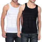 Body Shapewear Girdle Shirts Male Men Vest Body Shaper Underwear Waist Cincher Corset Slimming Tummy Belly Waist 2018