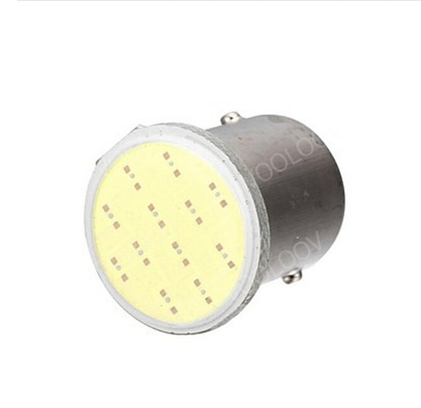 Super White cob p21w led 12SMD 1156,ba15s 12v bulbs RV Trailer Truck Interior Light 1073 parking Auto Car lamp