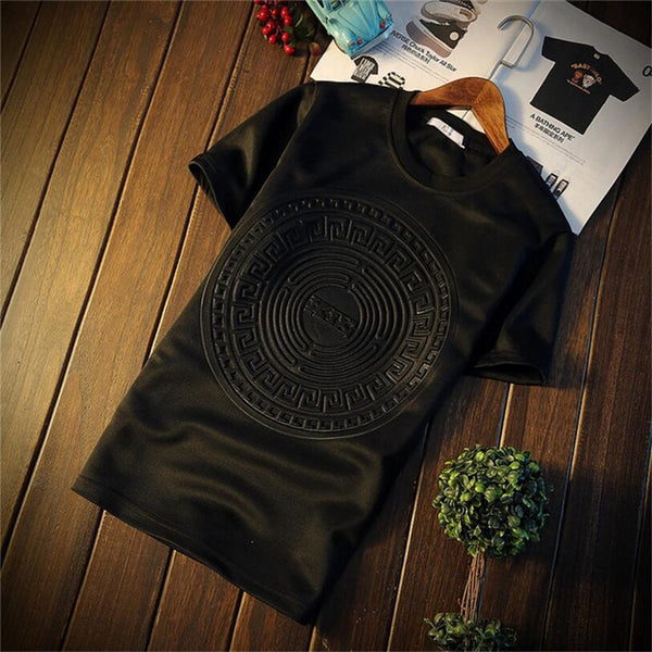 Hot Sale Summer T Shirt Men Short Sleeve T-shirt M-5XL Drop Shipping