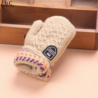 Halter Kids Gloves Cute Children's Haling Hands Warm Winter Clothes Accessories
