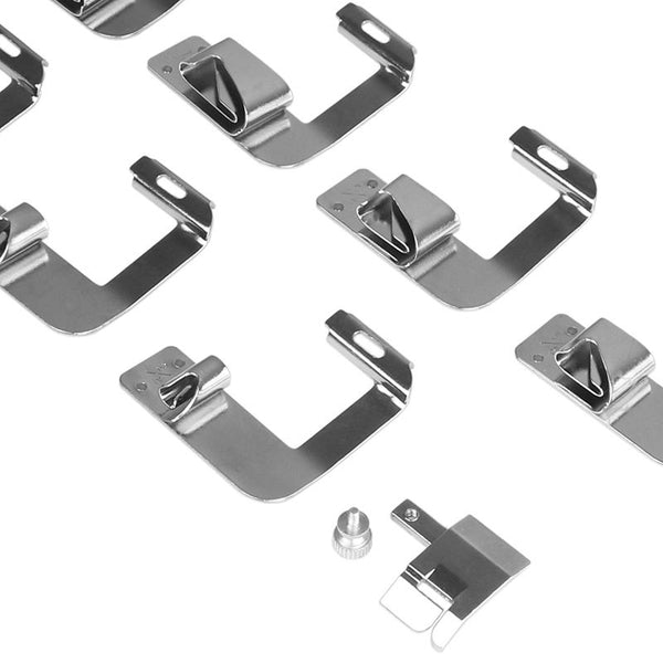 8pcs Multifunction Rolled Hammer Foot Presser Foot Spare Parts Accessories 4/8