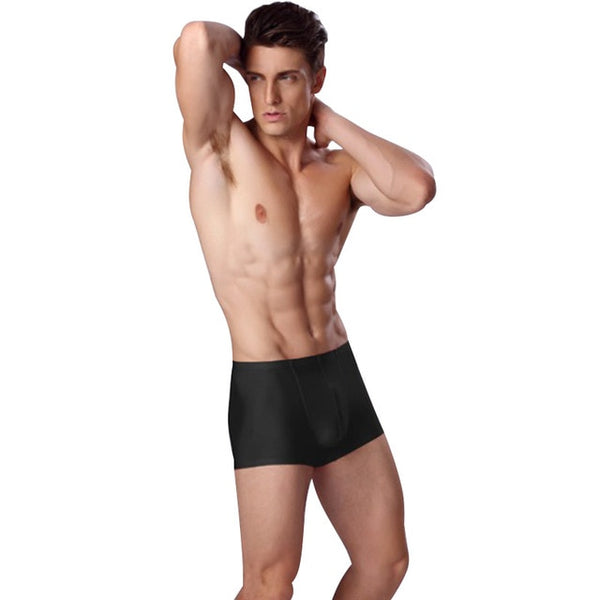 2018 Pouplar Brand Trunk Mens Boxers Cotton Sexy Men Underwear Mens Underpants Male Panties Shorts  Dropshipping