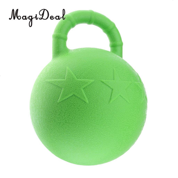MagiDeal Horse Toy Game Ball with Apple Scent Pet Joy Fun Horse Stable And Yard Toy