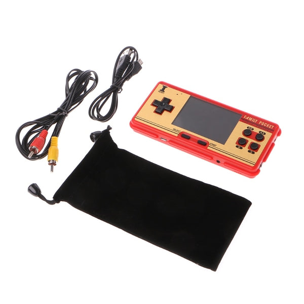 New Data Frog Portable Handheld Classic Games Players Console Support AV Out Put hot