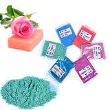 10g/pack Women Make UP Eyeshadow Paint Soap Dye Soap Colorant Pigment Mica Powder
