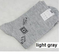 10 pairs/lot men socks autumn winter male socks thermal compression in tube cotton socks men's socks casual meias masculinas