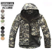 1PCS V 4.0 Men Winter battle Jackets Waterproof Tactics Jacket Men's military Clothes Black/Green/Khaki/ACU/CP Big Size XS-XXXL