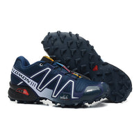 Salomon Speed Cross 3 CS III Shoes Men zapatos hombre Camo Black Red Running Shoes Cushion Atheltic Sport Shoes eur 40-46