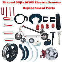 Xiaomi Mijia M365 Electric Scooter Murdguard Fender Kickstand Light Clasped Guard Ring Disc Brakes Pads Repair Replacement Part