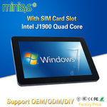 MINISYS 10.1 Inch Ten Point Touch Capacitive Screen All-in-one Panel PC Intel J1900 CPU 1280*800 Resolution Multimedia Computer