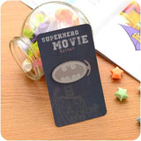 Creative Cartoon Metal Book Markers Bookmark For Books Paper Clips Bookmark Gift Stationery Office School Supplies Stationery