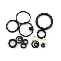16PCS/SET NBR/PTFE Sealing O-rings PCP Pump High Pressure Air Pump Accessories Spare Parts 40mpa 400bar 6000psi Replacement Kit