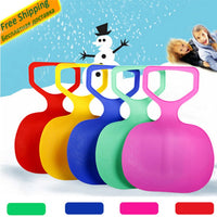 Mounchain Adult Kids Thicken Plastic Skiing adulte Ski Pad Children Snow grass sand Sledge Sled for Winter Sports SCI equiment