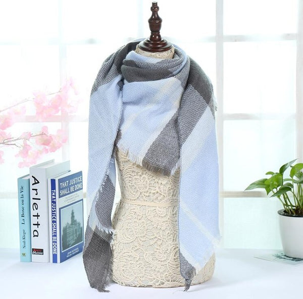 2018 New Fashion Brand Winter Scarf For Women Scarf 180cm*130cm Large Luxury Women Scarf Warm Cashmere Shawls and Scarves