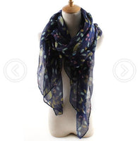 Autumn&Winter Fashion women's national wind floral scarf long section soft ladies cotton and linen scarves luxury brand bohemian