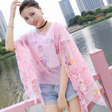 Chiffon silk scarf 2018 scarf female summer autumn all-match scarf long design air conditioning cape silk scarves shawl