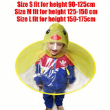 Yellow Duck Cosplay Creative design Gifts Funny Rain cap Umbrella Child Kid Adult Folding Umbrella Fishing Raincoat Cloak Hat