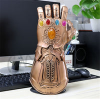 1:1 Infinity War Thanos Infinity Gauntlet PVC Gloves Costume Halloween Party Prop